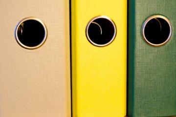 Организация хранения документов. Как навести порядок в документах?